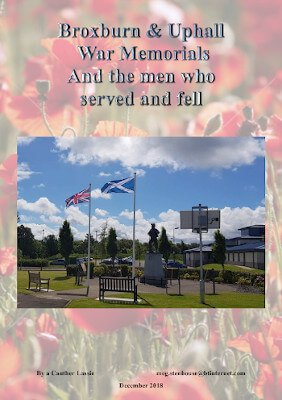 Broxburn & Uphall War Memorials and the Men who Served and Fell in WW1
